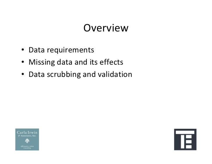 Preparing Your Data for an Affirmative Action Plan: Workforce Snapshot Slide 3