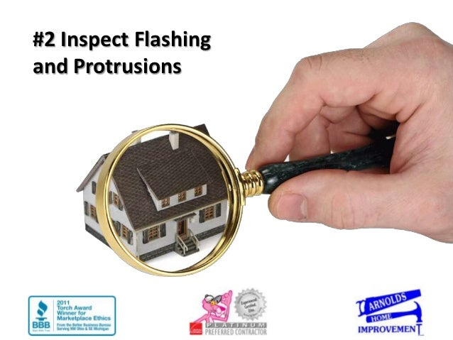 #2 Inspect Flashingand Protrusions