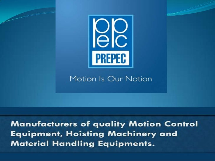 Precision Processing Equipment With over three decades of manufacturing experience, we  have delivered quality products t...