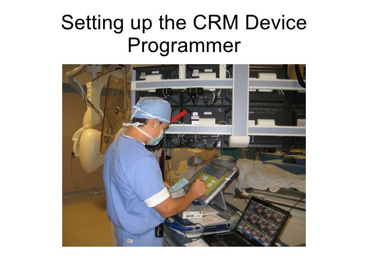 Setting up the CRM Device Programmer
