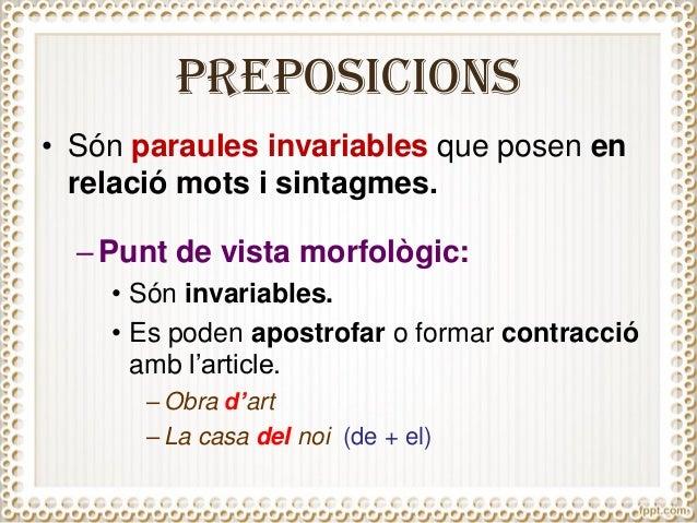 Resultat d'imatges de preposicions i conjuncions