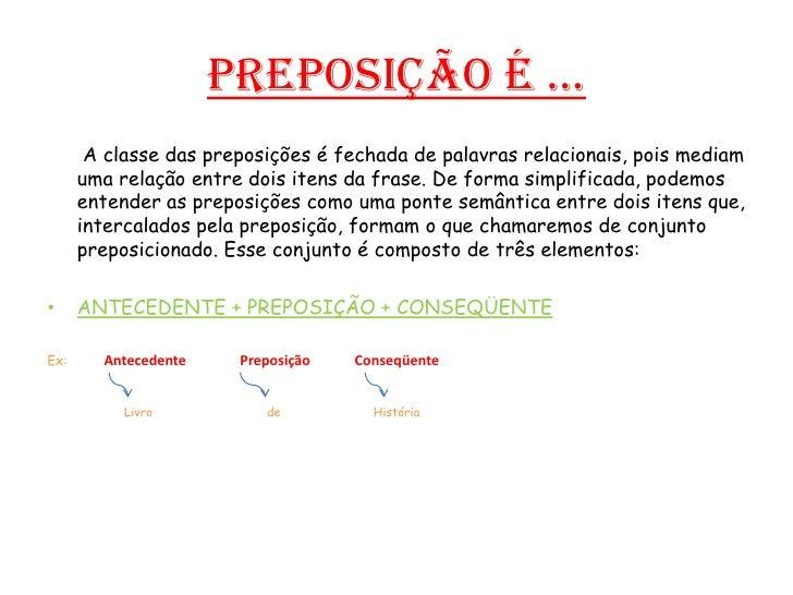 Preposições Slide 2