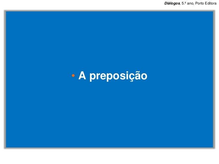 Preposição 2