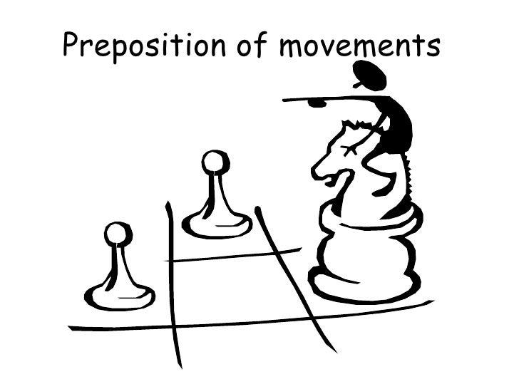 Preposition of movements