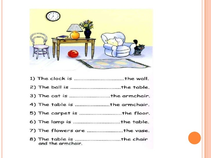 Preposition Of Time And Place on English First Grade Worksheets