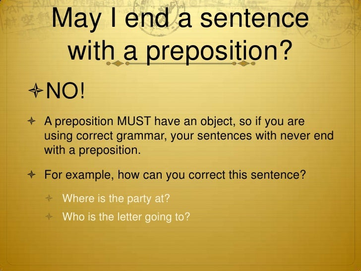How to not end your sentences with prepositions