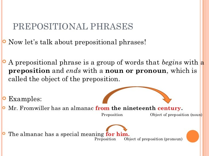 write a sentence with two prepositional phrases