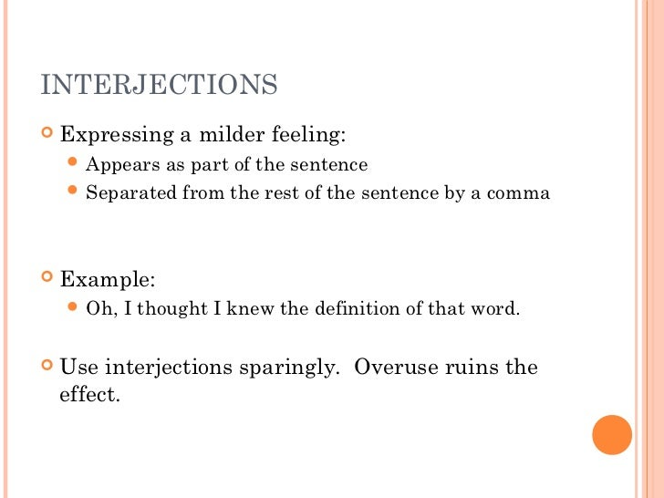 What is an interjection? Definition & examples video & lesson.