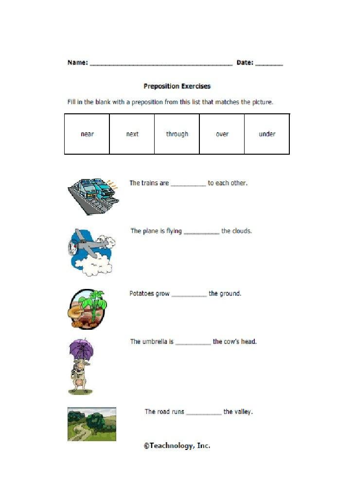 Prepositions iv