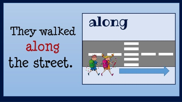 They Walked Along The Street