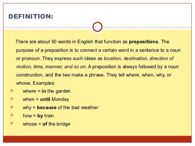 Complex prepositions. Definition and examples. Learn english.