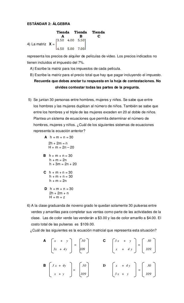 Fantástico Hojas De Trabajo Libres De álgebra Pre Molde - hojas de ...