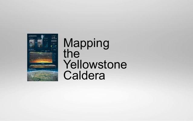 Mapping the Yellowstone Caldera