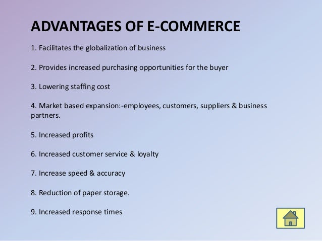 E-commerce: Meaning, Advantages and Disadvantages