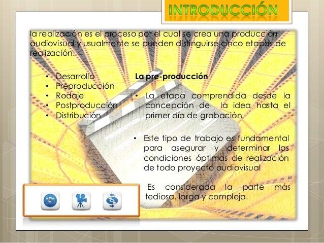 Preproduccion Audiovisual Slide 2