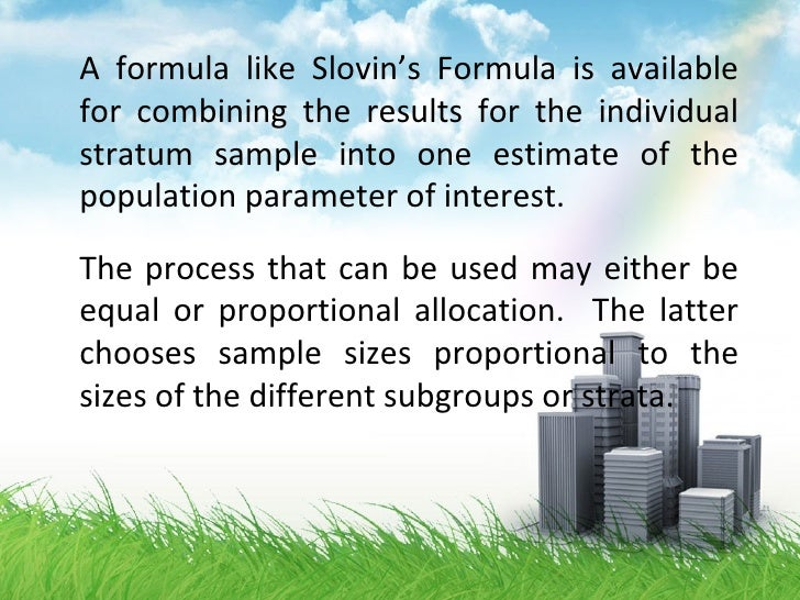 slovins formula Who invented/formulated it i already have done some research and all the results wasn't clear enough i found one which states that yamane's formula and slovin's formula are the same and were formulated by taro yamane.