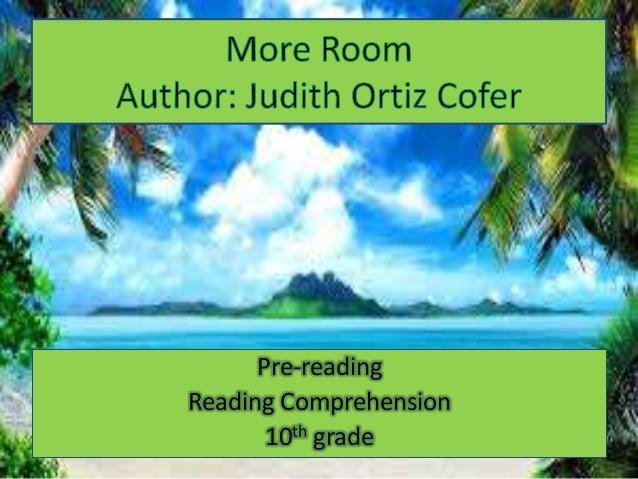 understanding of cold as heaven by judith ortiz cofer