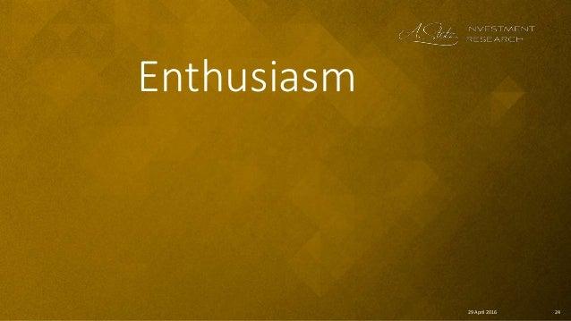 2429 April 2016 Enthusiasm