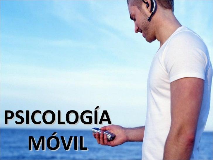 PSICOLOGÍA MÓVIL