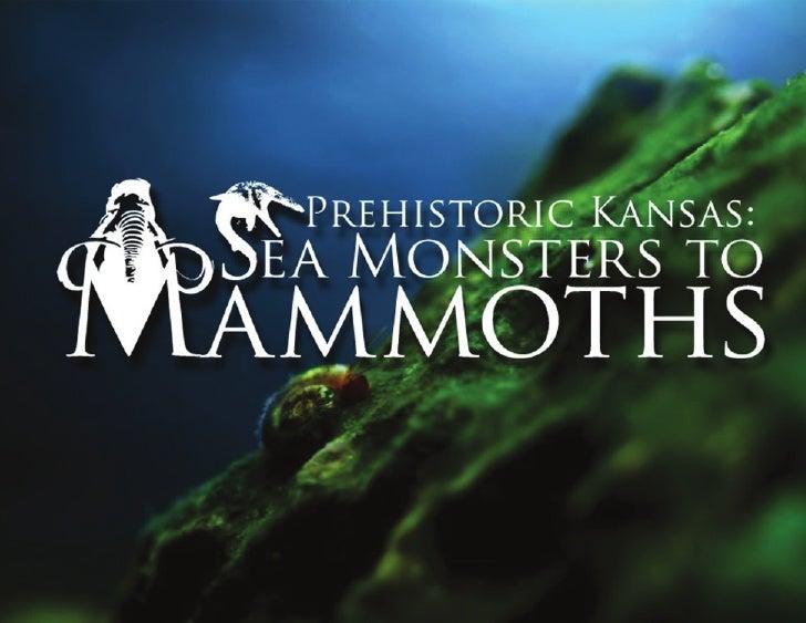 Logo Development                                                                                 Prehistoric Kansas:      ...