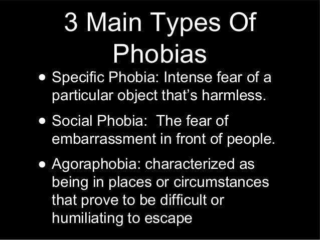 Phobia Presentation