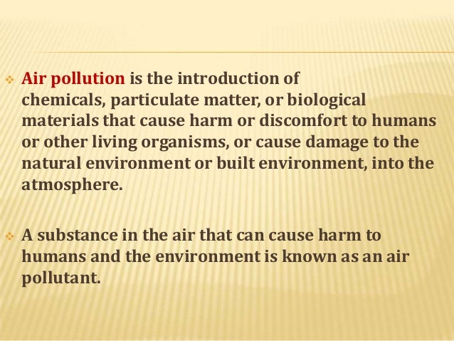 introduction of environment essay