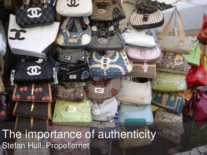 The importance of authenticityStefan Hull, Propellernet<br />