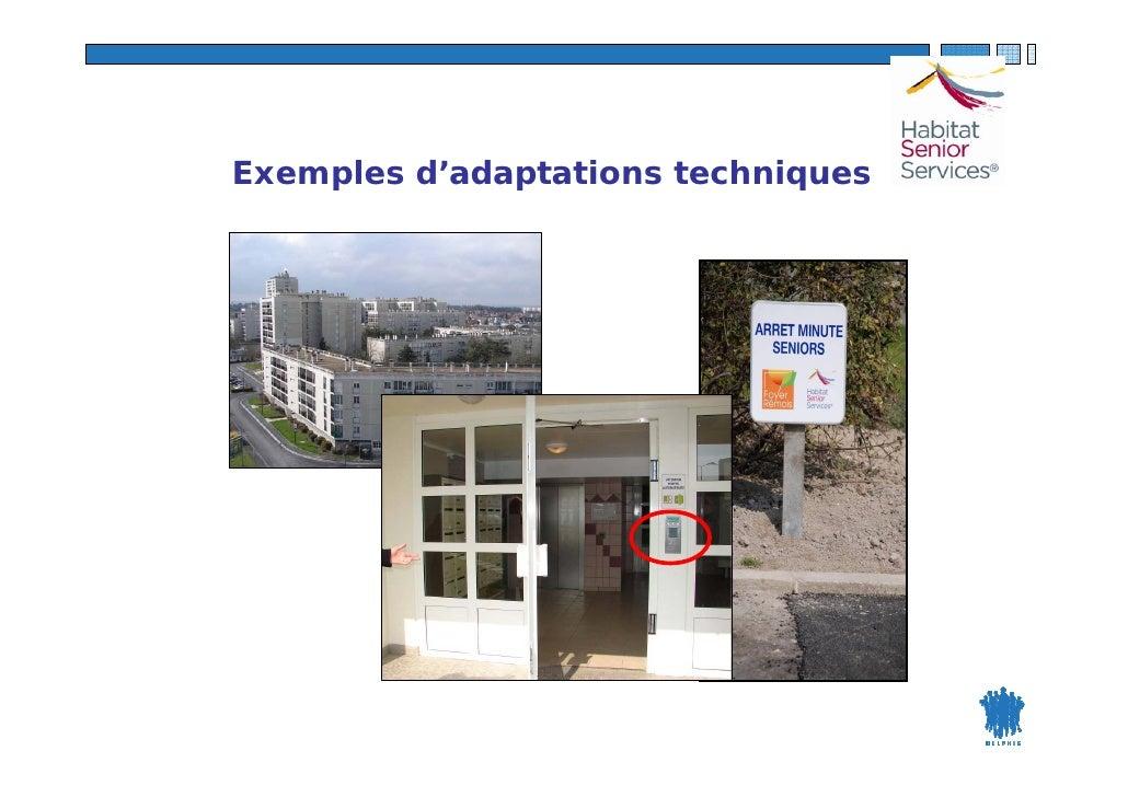 Exemples d'adaptations techniques