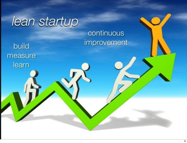 @cfalguiere#breizhcamp lean startup build measure learn continuous improvement 8