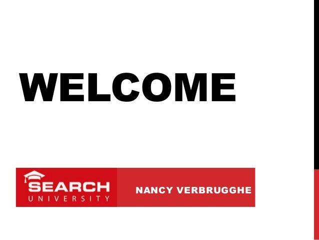 WELCOMENANCY VERBRUGGHE