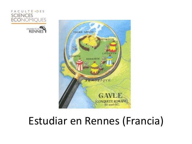 Estudiar en Rennes (Francia)