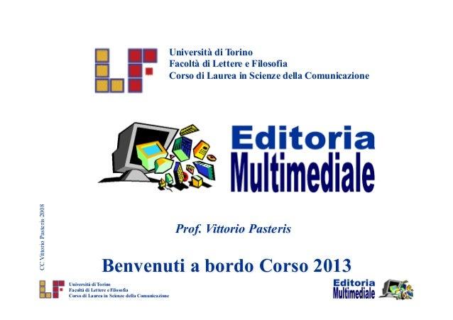 Università di Torino                                                                             Facoltà di Lettere e Filo...