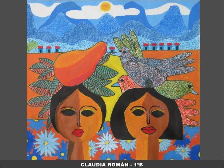 CLAUDIA ROMÁN - 1ºB