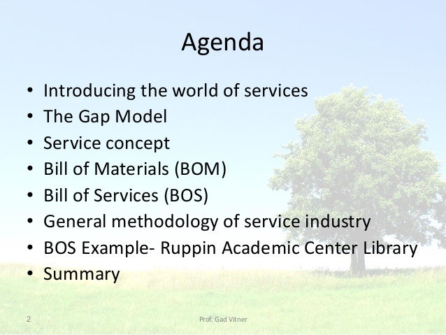 04 2015 2 agenda introducing the world of services