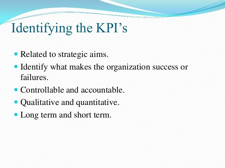How Are KPIs Evaluated A KPIs status and score are determined by comparing  its actual value against the thresholds that ...