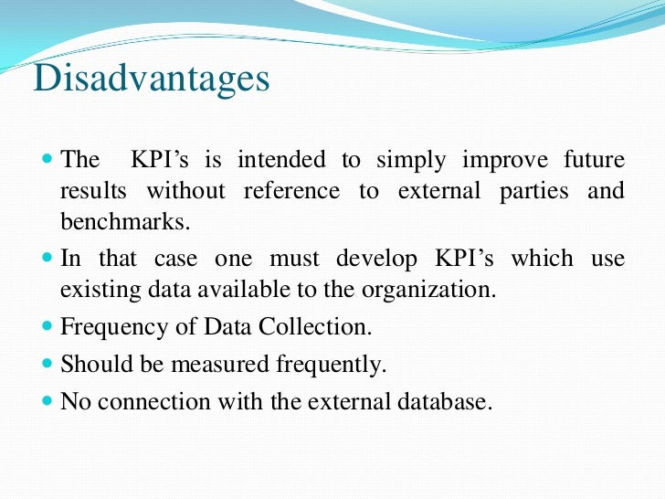 Types of KPI Process KPIs - measure the efficiency or  productivity of a business process. Examples - Days to deliver an...