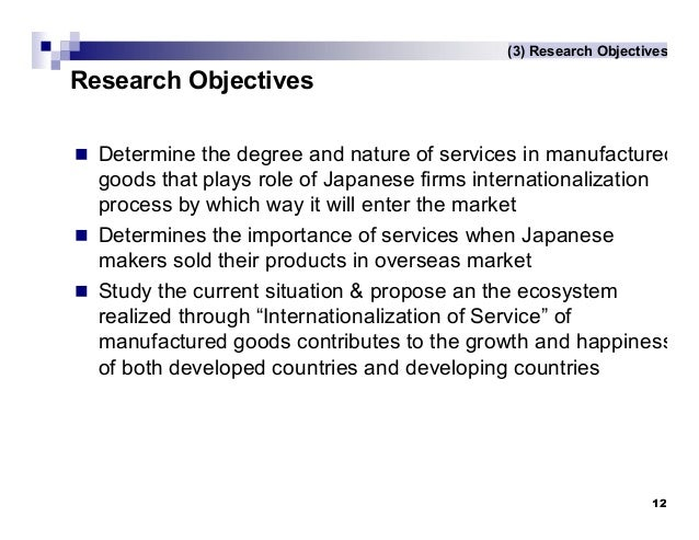 internationalization japanese manufacturing company Company-specific investments in socialization and  japanese manufacturing multinational corporations  internationalization in japan's service industries.