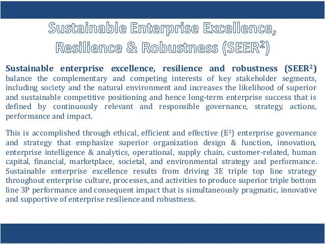 sustainability strategy transforms the enterprise Learn how sustainability issues influence corporate strategy and how corporations may transform these challenges into sources of competitive advantage strategy and the sustainable enterprise (edx) | mooc list.