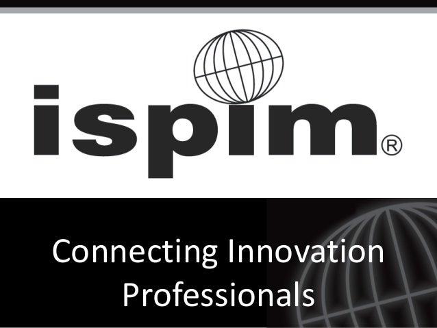 ispim innovation management dissertation award 2015