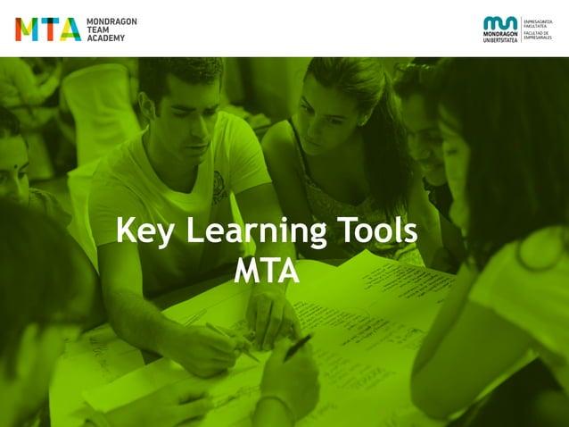 Key Learning Tools MTA