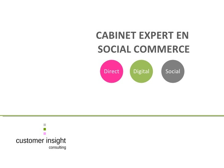 CABINET EXPERT EN    SOCIAL COMMERCE Direct Digital Social
