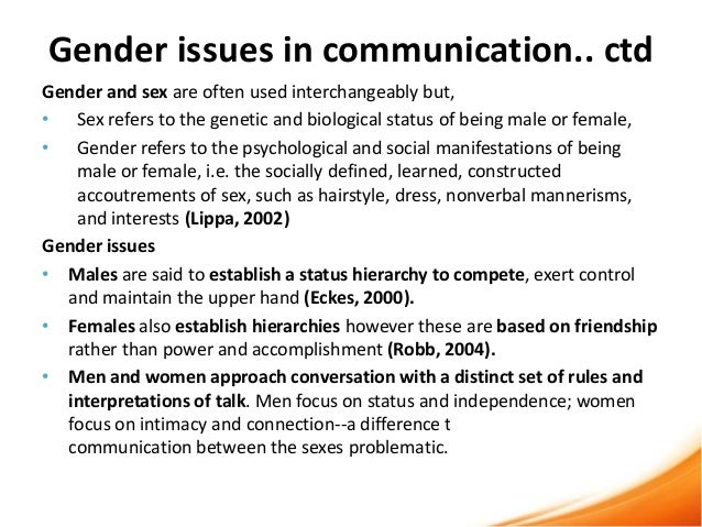 communication between males and females essay Free essay on studying differences in male and female communication available totally free at echeatcom, the largest free essay community.