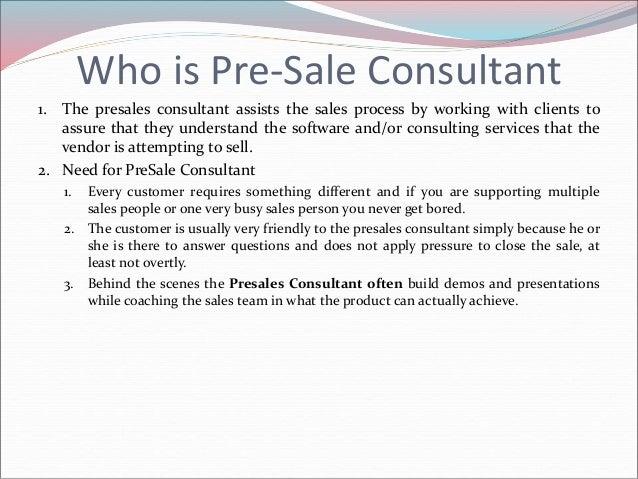 IT BA Pre Sale Consulting