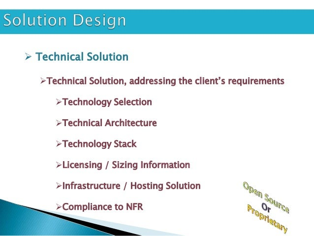  Functional Solution   Functional Solution, addressing the client's requirements      Functional Flow      Fitment of ...