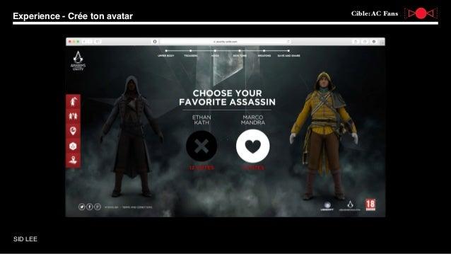 Assassin s creed unity pour ubisoft par alex pasini - Cree ton avatar et decore ton apparte ...