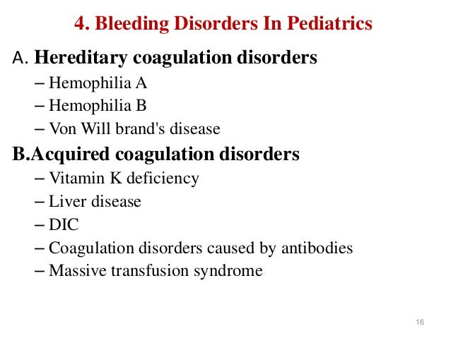 coagulation disorders Blood coagulation disorders the who international standards (is) for the measurement of blood coagulation factors and inhibitors in plasma are used by.