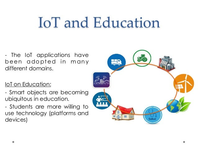 [1]; 3. IoT And Education ...