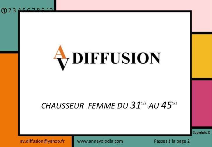 [email_address] www.annavolodia.com CHAUSSEUR  FEMME DU  31 1/2   AU  45 1/2  2 3 4 5 6 7 8 9 10 Copyright © Passez à la ...