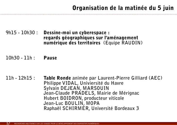 Atlas Numérique de l'Arc Atlantique - Présentation colloque RAUDIN Slide 2