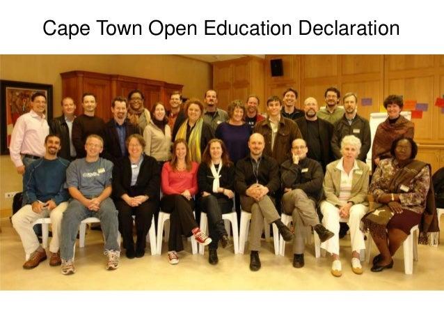 Cape Town Open Education Declaration
